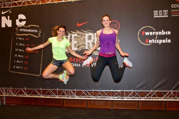 NTC werunbcn Mireia y Paula